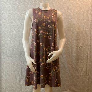 🤸♀️A. Byer Sleeveless Floral Trapeze Dress🤸♀️